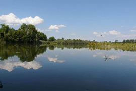 Trügerische Schönheit: Ob ein See mit PFC belastet ist, sieht man ihm nicht an. Für die Sanierungen von PFC-belastetem Boden und Wasser gibt es nun eine Arbeitshilfe, die vom Umweltbundesamt erstellt wurde.