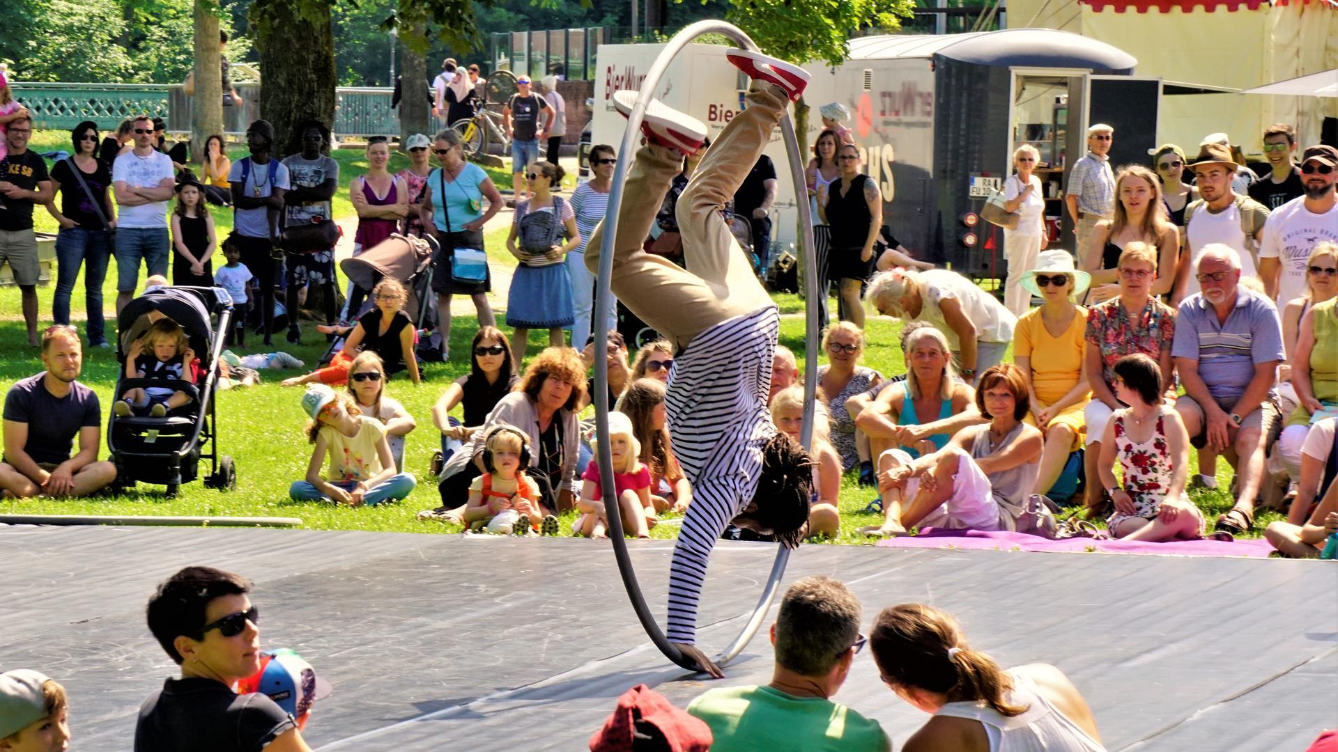 """Vielfältige Vorführungen gab es im Sommer 2018 beim """"Tête-à-Tête"""" in Rastatt. Das Festival hat sich nun bei einem EU-Projekt beworben."""