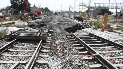 Baustelle Tunnel Rastatt