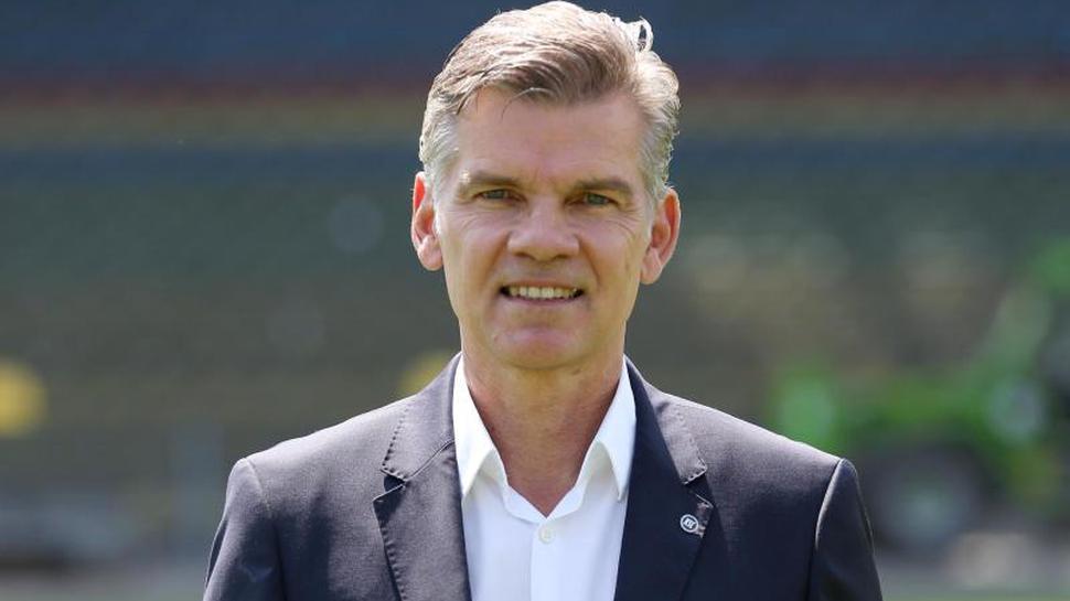 Karlsruhes Präsident Ingo Wellenreuther
