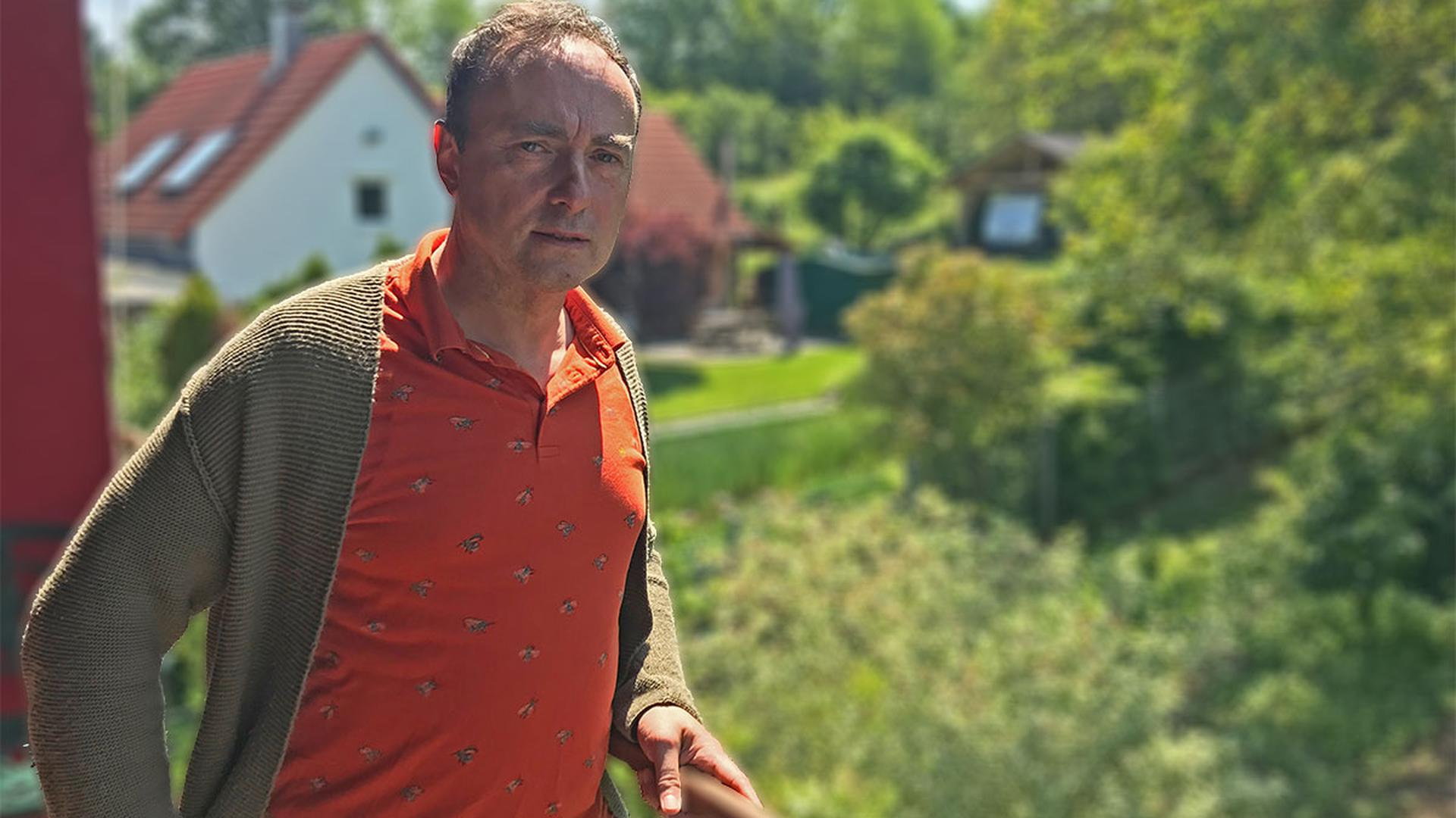 """Ulrich Schumann von der Bürgerinitiative """"Sauberes Trinkwasser für Kuppenheim"""""""