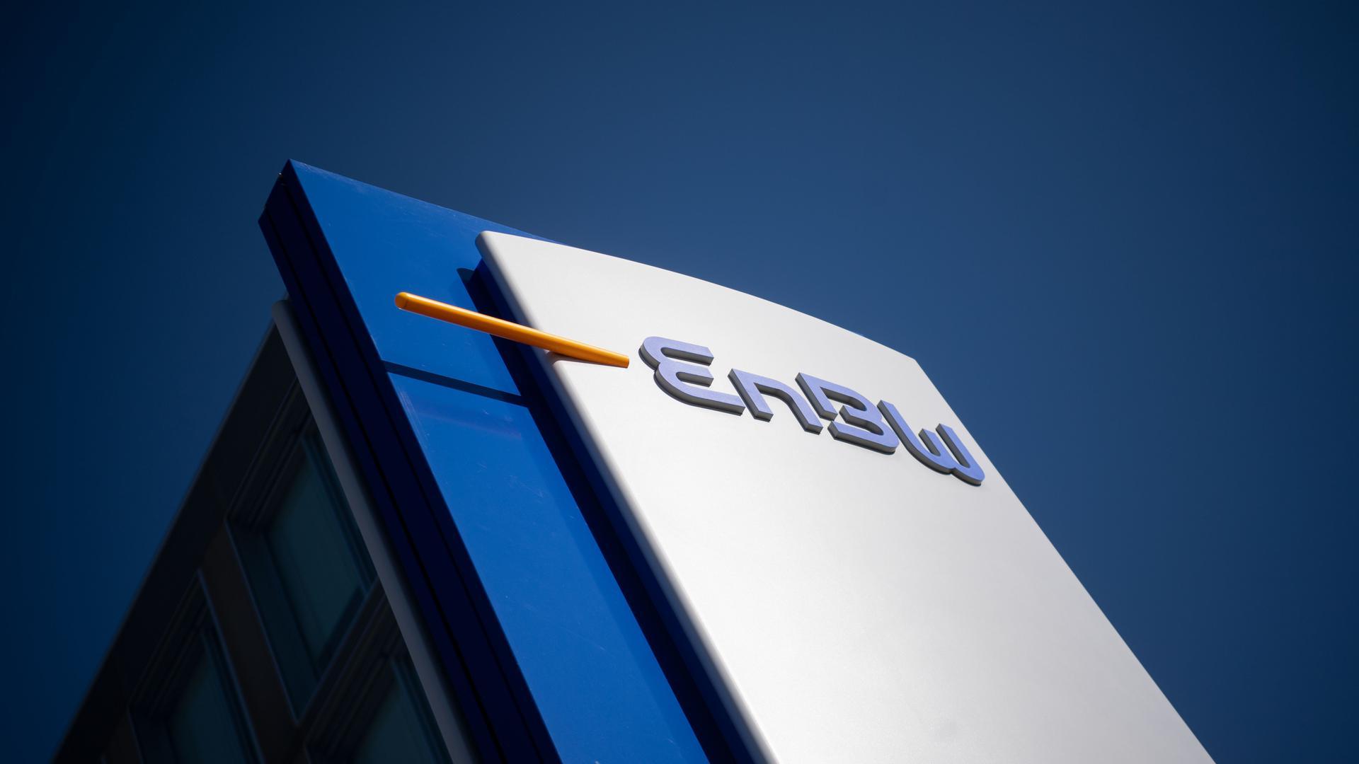 Das Logo der EnBW