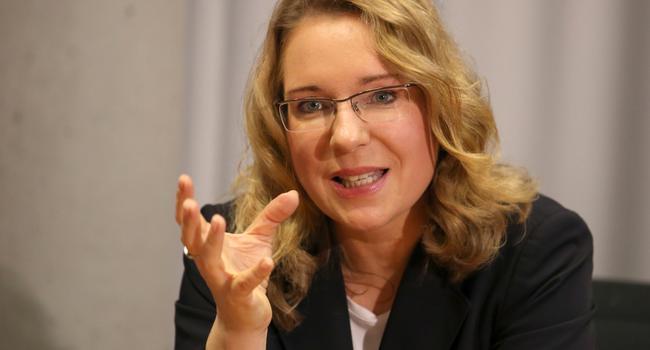 Die Energieexpertin Claudia Kemfert.