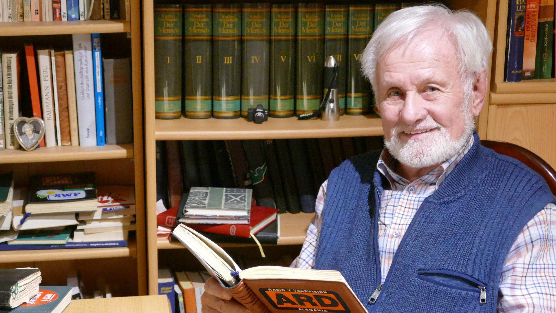 Fesselnder als ein Krimi sind Peter Wendts Tagebücher. Der SWR-Kameramann hat sie bei Auslandseinsätzen verfasst. Jetzt hat er daraus ein Buch gemacht.