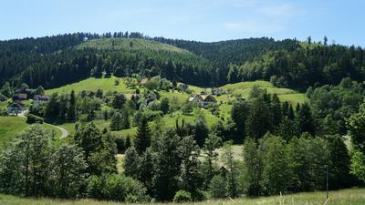 Beliebte Ziele sind gefragt: Hotels, Ferienwohnungen und Campingplätze dürfen wieder öffnen und werden häufig gebucht. Der Tourismus im Land erwacht. Die Aufnahme zeigt das Tonbachtal im Schwarzwald.