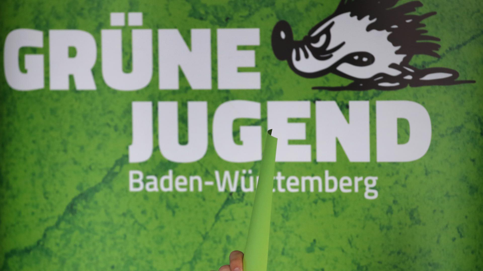 Ein Plakat der Grünen Jugend Baden-Württemberg