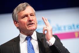 Klares Ziel: Hans-Ulrich Rülke, Fraktionsvorsitzender der FDP im Landtag von Baden-Württemberg und Spitzenkandidat für die Landtagswahl, strebt eine Regierungsverantwortung an.