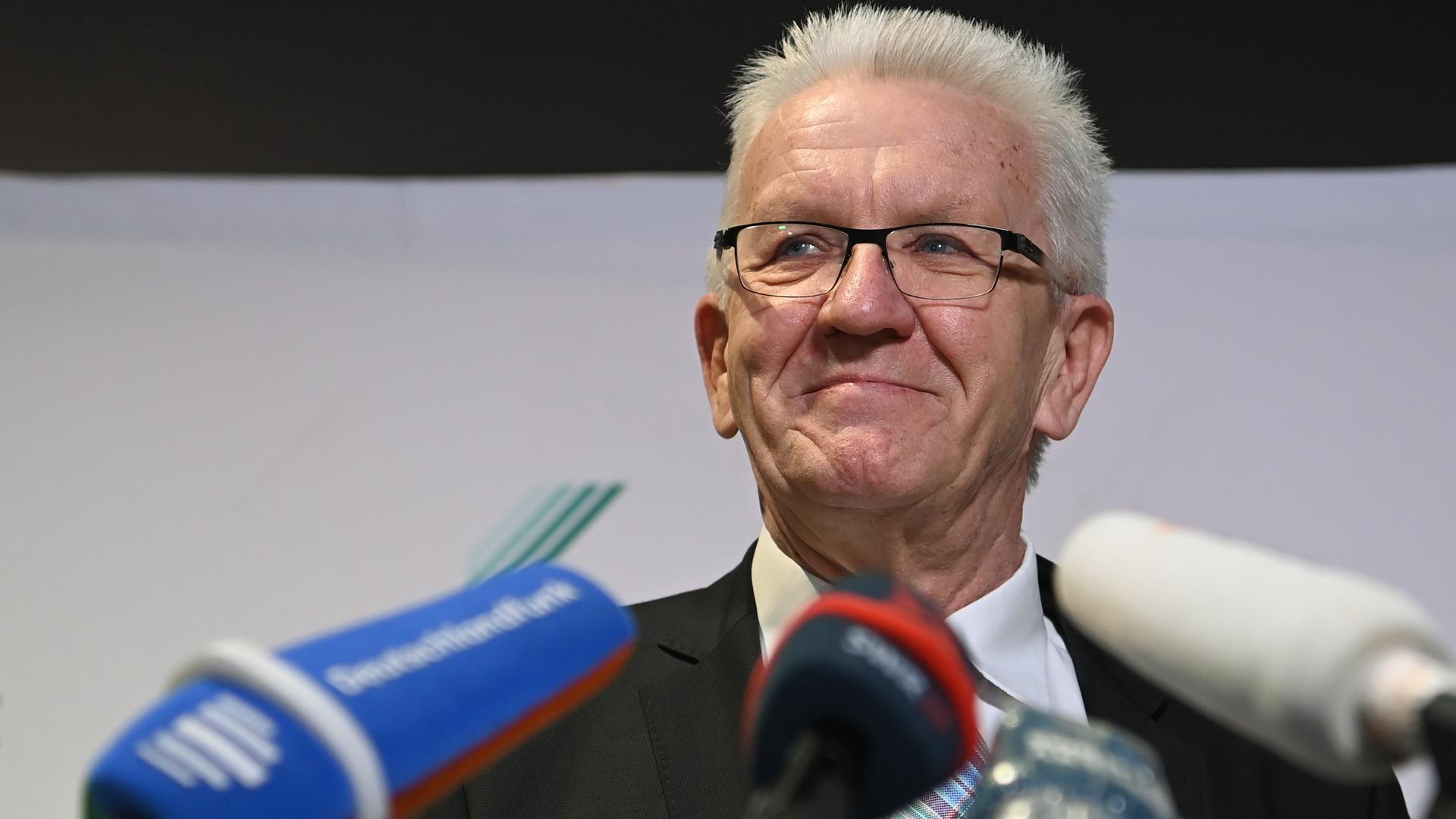 Wer wird Regierungspartner? Der baden-württembergische Ministerpräsident Winfried Kretschmann hat die Wahl: Will er in einer Ampel-Koaliton regieren oder das Bündnis mit der CDU auch in den kommenden Jahren fortsetzen?