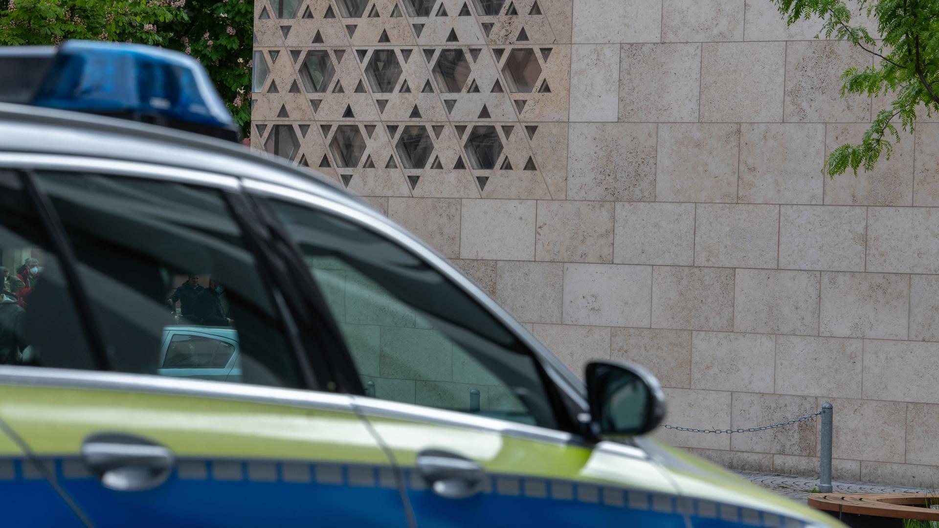 Auch Antisemitismusbeauftragter Michael Blume betonte die gute Arbeit der Polizei nach dem Brandanschlag in Ulm.