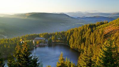 Deutschland,Baden-Wuerttemberg,Schwarzwald,Mummelsee