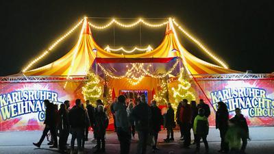 Karlsruher Weihnachtscircus, Weihnachtszirkus, Karlsruhe