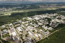 KIT Campus Nord Luftbild