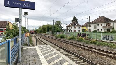 Stutensee Blankenloch Bahnhof