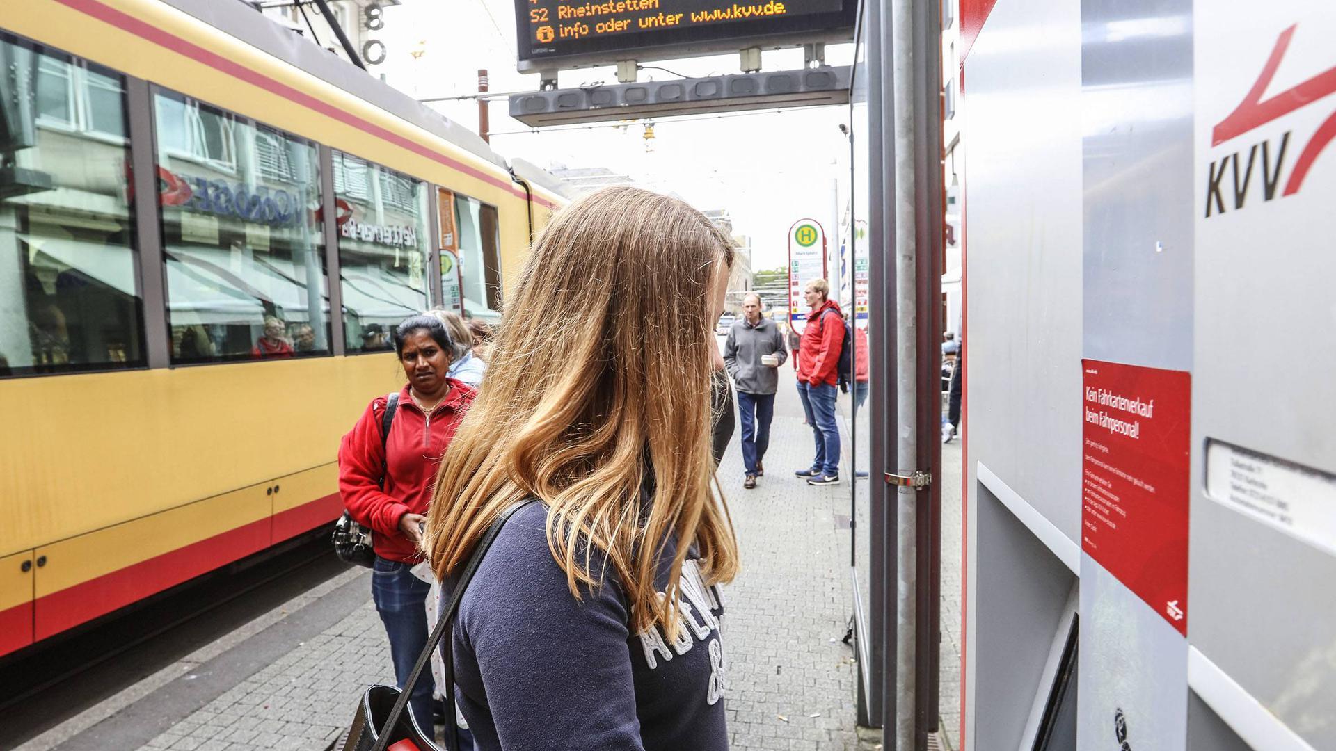 KVV Stadtbahn Karlsruher-Verkehrs-Verbund Straßenbahn Karlsruhe
