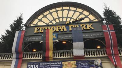 Europa-Park Rust vor der Winteröffnung 2018