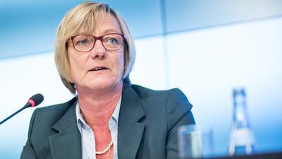 Viele Optionen gibt es nicht: Die scheidende Finanzministerin Edith Sitzmann (Grüne) wird in den Gesprächen vermutlich einen düsteren Ausblick auf die Finanzlage im Land geben.