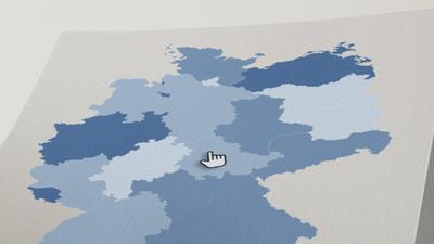 Wie viele Menschen haben in meinem Bundesland bereits eine Corona-Impfung erhalten? Unsere Karte bietet den Überblick.