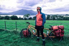 Mit dem Tandem in Irland: Der Landauer Benjamin Nerding reist seit 2011 um die Welt.