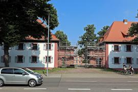 © Jodo-Foto /  Joerg  Donecker// 17.07.2021 Wohnheime beim Schloss Gottesaue, Copyright - Jodo-Foto /  Joerg  Donecker Sonnenbergstr.4  D-76228 KARLSRUHE TEL:  0049 (0) 721-9473285 FAX:  0049 (0) 721 4903368  Mobil: 0049 (0) 172 7238737 E-Mail:  joerg.donecker@t-online.de Sparkasse Karlsruhe  IBAN: DE12 6605 0101 0010 0395 50, BIC: KARSDE66XX Steuernummer 34140/28360 Veroeffentlichung nur gegen Honorar nach MFM zzgl. ges. Mwst.  , Belegexemplar und Namensnennung. Es gelten meine AGB.