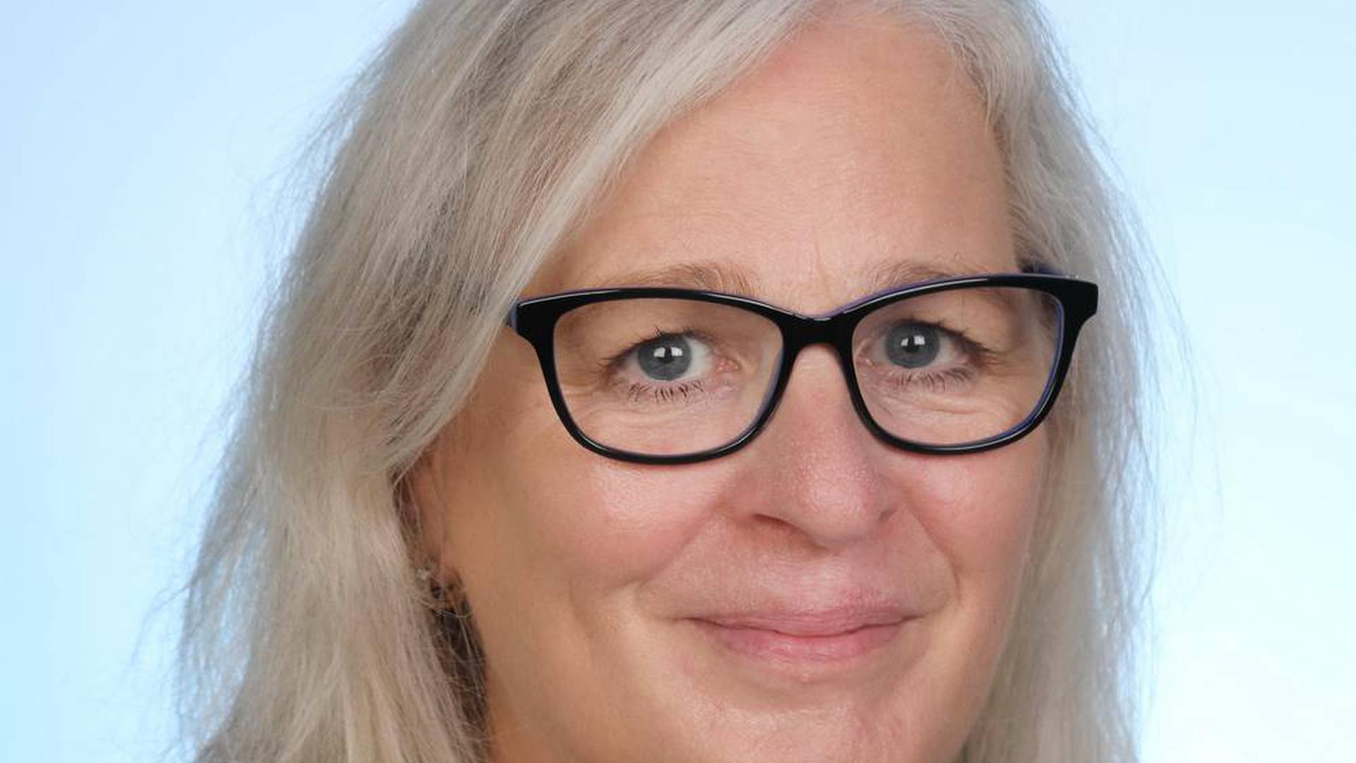 Inge Ganter, Grüne-Frationsvorsitzende Kreistag Karlsruhe