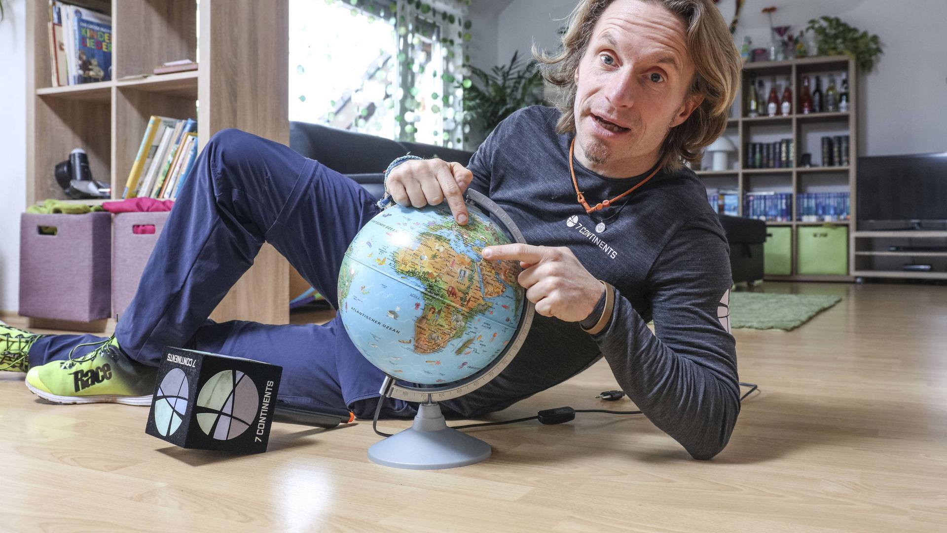 Der Waldbronner Extremläufer Norman Bücher.