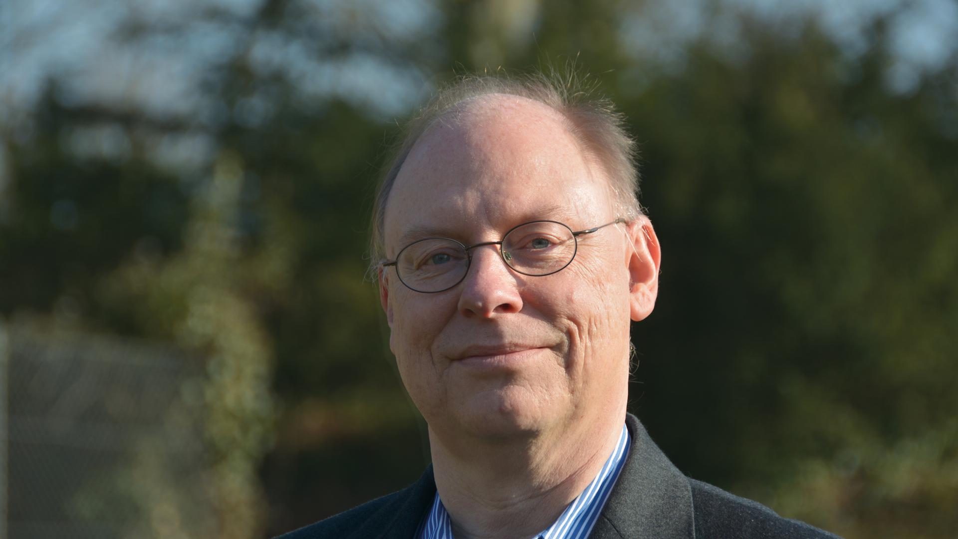 Olivier Elmer vom Psychiatrischen Zentrum Nordbaden ist Sprecher des Bündnisses gegen Depression Rhein-Neckar Süd.