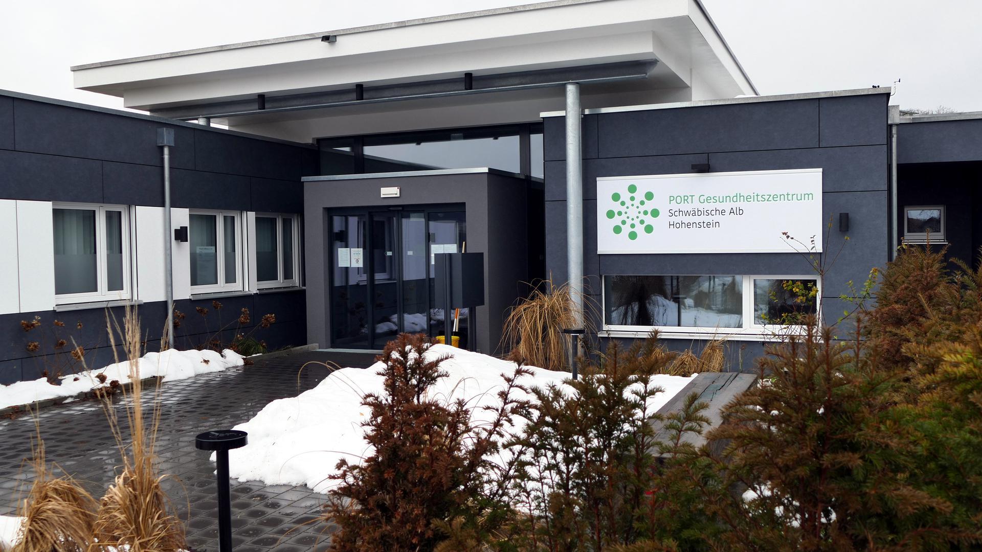 Das PORT Gesundheitszentrum Schwäbische Alb in Hohenstein im Kreis Reutlingen ist seit Herbst 2019 geöffnet.