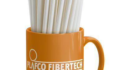 Vielseitig und strapazierfähig wie Plastik, nachhaltig und recycelbar wie Papier: Der innovative Faserverbundstoff der Karlsruher Firma Plafco, aus dem zum Beispiel umweltfreundliche Trinkhälme  erzeugt werden, ist mit dem Innovationspreis Neo2020 ausgezeichnet worden.
