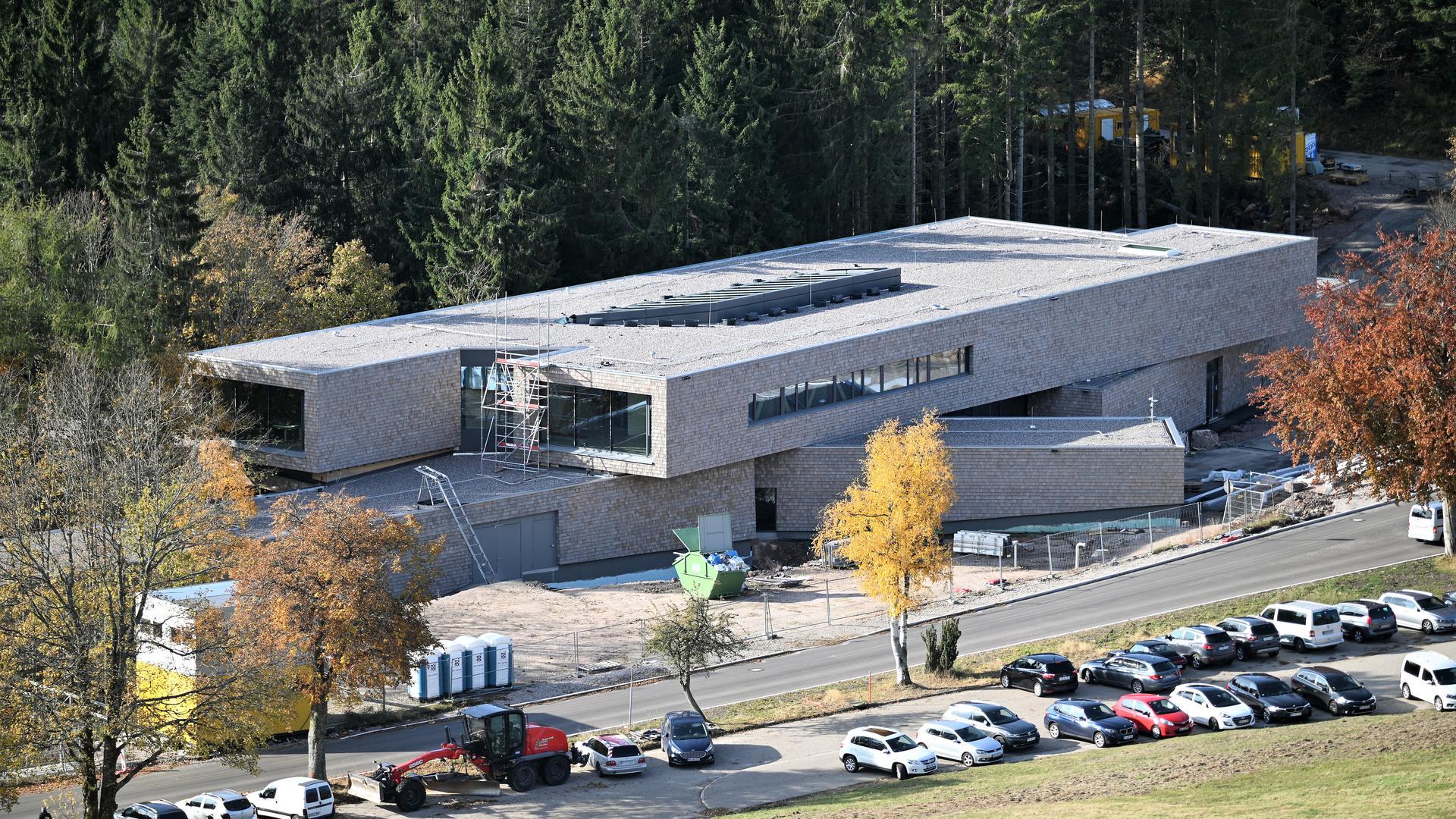 Klare Formensprache: Die Architekten Sturm und Wartzeck haben 2015 den Wettbewerb für das Nationalparkzentrum am Ruhestein gewonnen.