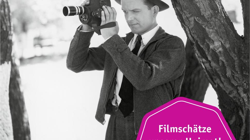 """DVD-Cover """"Zurückgespult. Filmschätze unserer Heimat! 30er bis 80er Jahre."""""""