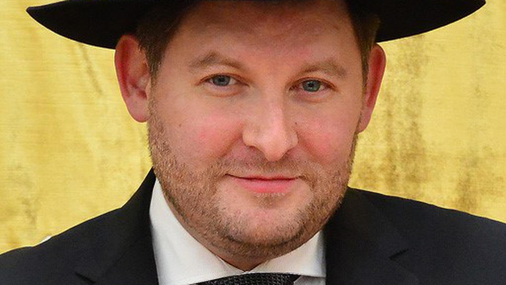 Moshe Flomenmann ist Landesrabbiner von Baden und Polizeirabbiner.