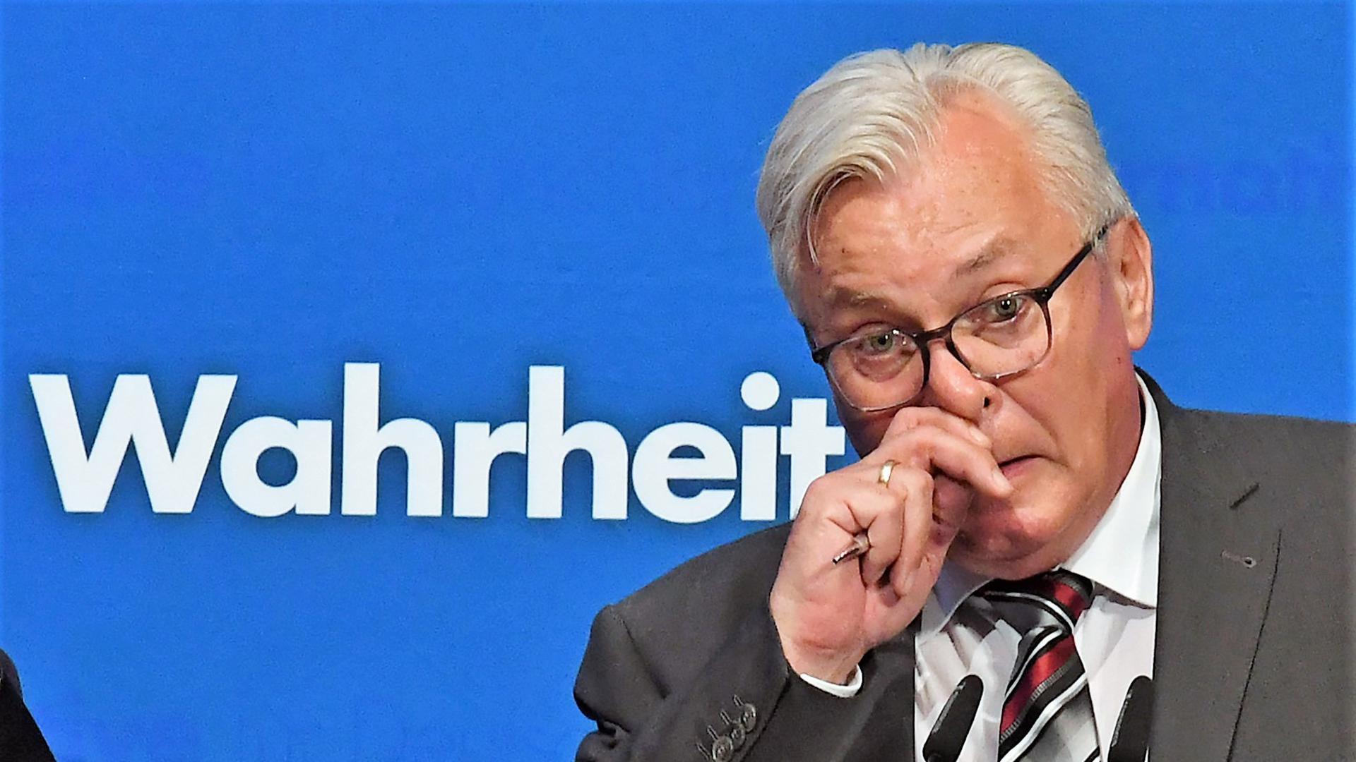 AfD-Landtagsfraktionschef Bernd Gögel will gemeinsam mit seinem Stellvertreter Emil Sänze kandidieren.