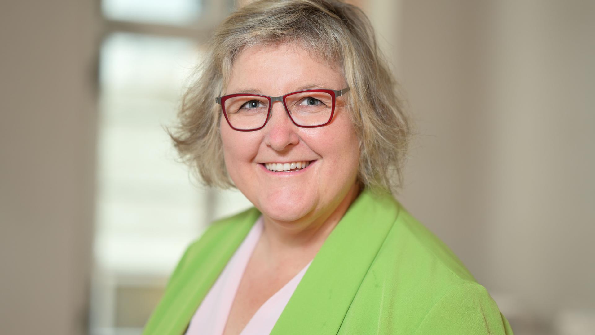 Heike Springhart, Pfarrrerin in Pforzheim, Kandidatin für die badische Landesbischofswahl 2021