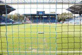 Abschied vom Carl-Benz-Stadion?  Sollte der SV Waldhof Mannheim in naher Zukunft den Aufstieg in die Zweite Fußball-Bundesliga schaffen, könnte das Traditionsstadion ausgedient haben.