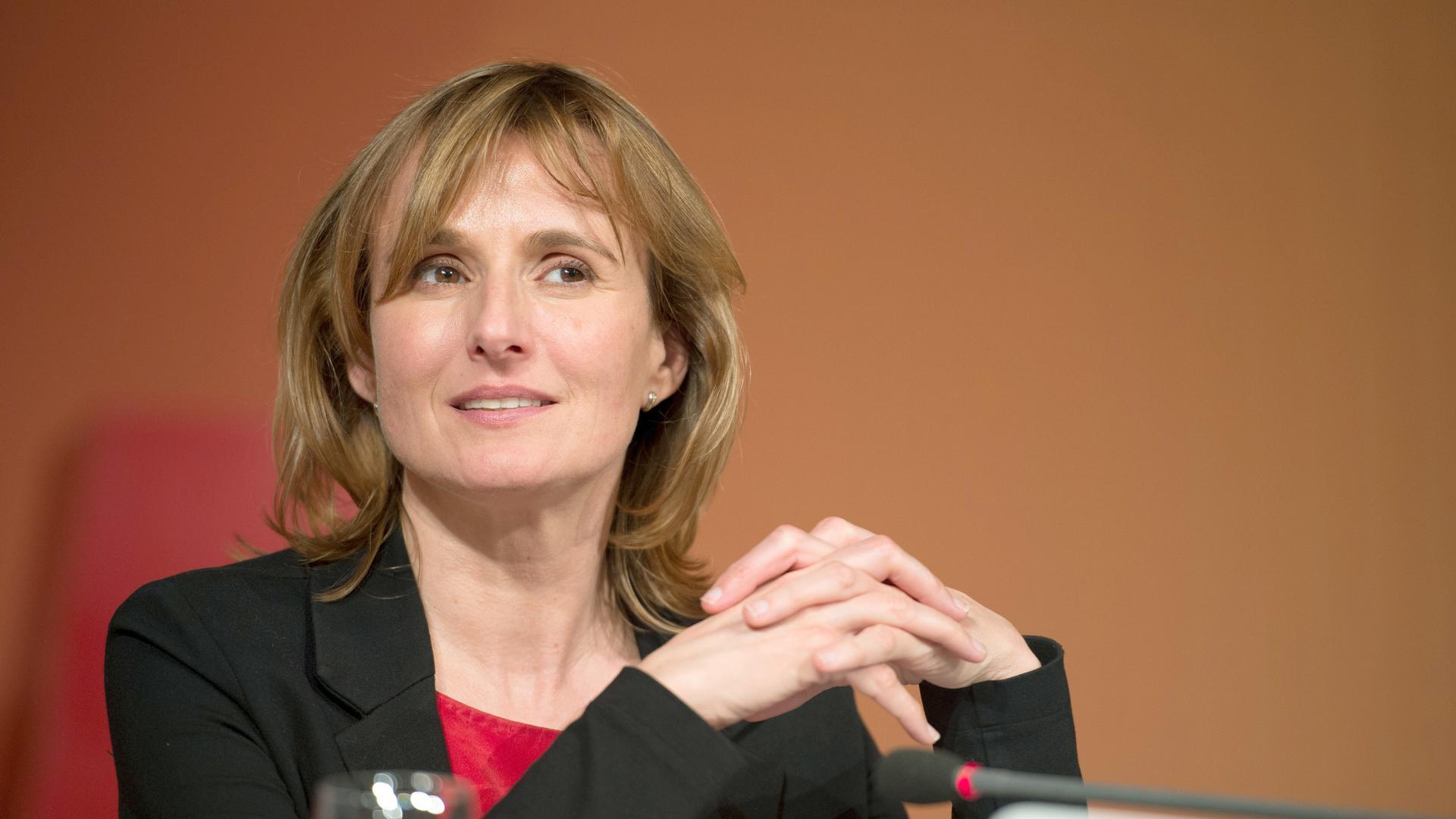 Staatssekretärin Katrin Schütz