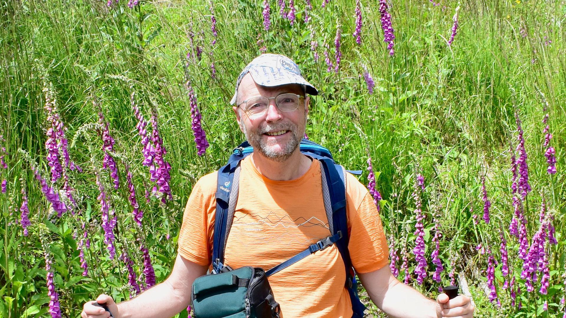 Günter Kromer Deutschlands-Wanderer, Autor BNN-Wandertipp