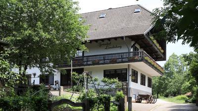 Blick auf den Ferienhof Lenzlisberg im Ortenaukreis