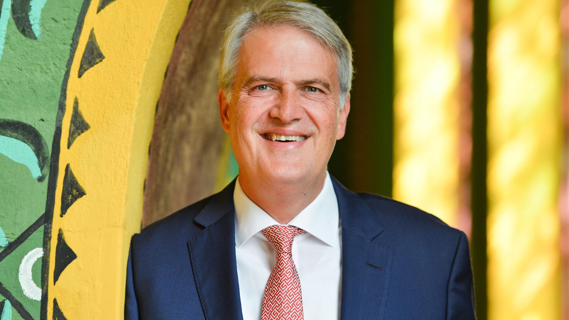 Dekan Martin Mencke aus Wiesbaden