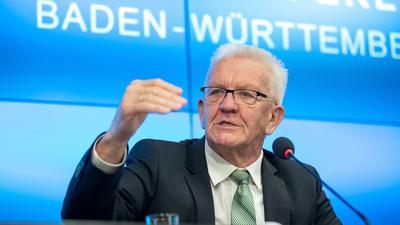 Winfried Kretschmann (Grüne), Ministerpräsident von Baden-Württemberg