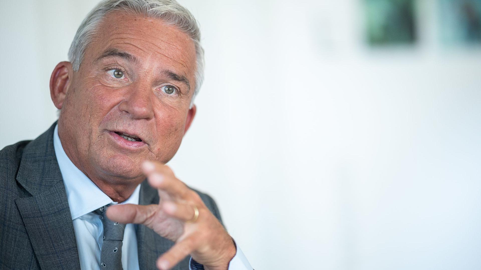 Baden-Württembergs Innenminister Thomas Strobl (CDU)