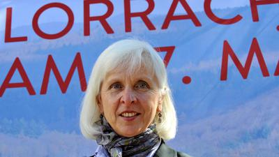 Die Oberbürgermeisterin von Lörrach, Gudrun Heute-Bluhm.