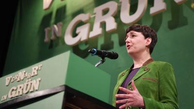Sandra Detzer, Landesvorsitzende der Grünen in Baden-Württemberg.