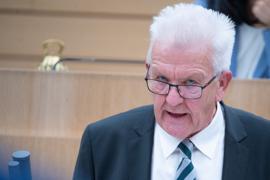 Baden-Württembergs Ministerpräsident Winfried Kretschmann (Grüne).