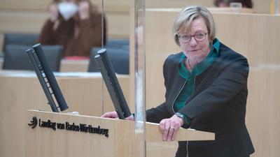 Edith Sitzmann (Bündnis 90/Die Grünen), Finanzministerin von Baden-Württemberg.
