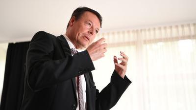 Baden-Württembergs Regierungspräsident, Klaus Tappeser.