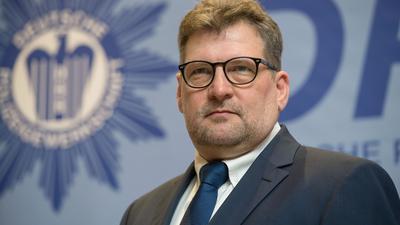 Ralf Kusterer, der Landesvorsitzende der Deutschen Polizeigewerkschaft Baden-Württemberg.