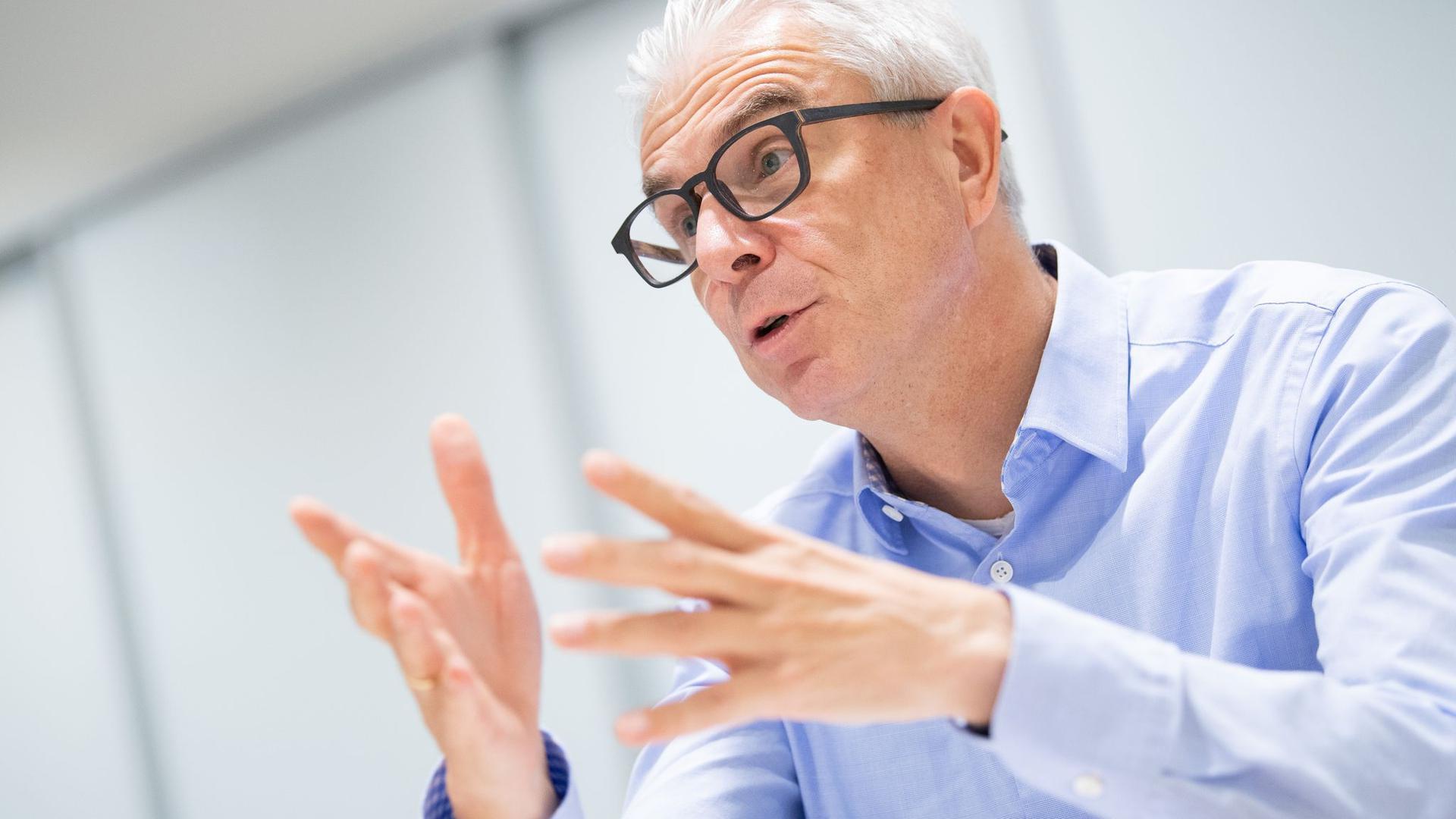 Christian Rauch, Vorsitzender der Geschäftsführung der Bundesagentur für Arbeit in Baden-Württemberg.