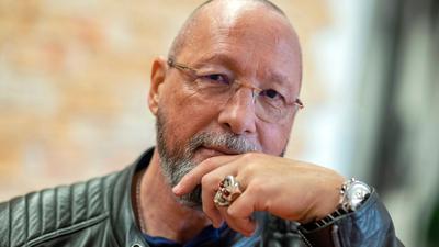 Uwe Hück, ehemaliger SPD-Politiker und früherer Porsche-Betriebsratschef, aufgenommen in einem Sportstudio der Lernstiftung Hück.