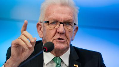Winfried Kretschmann (Grüne), Ministerpräsident von Baden-Württemberg.