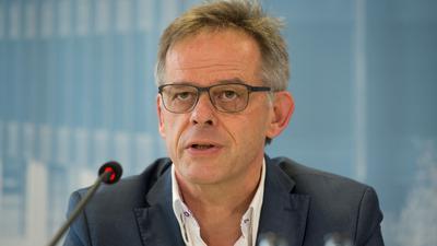 Der baden-württembergische Regierungssprecher Rudi Hoogvliet (Bündnis 90/Die Grünen).